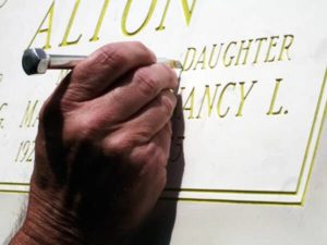 hand_cutting_stencil_for_grave_marker_and_headstones